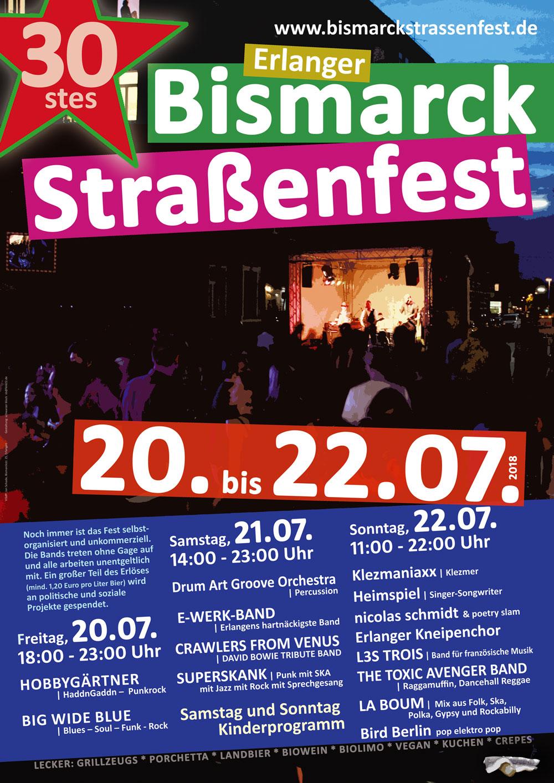Bismarckstraßenfest Erlangen Das Besondere Straßenfest 20 Bis