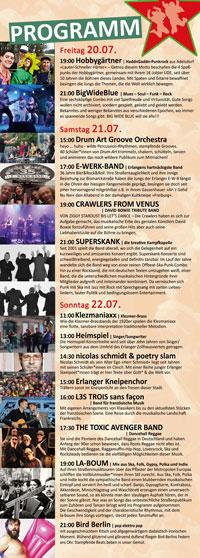 Programm Bismarckstrassenfest 2018